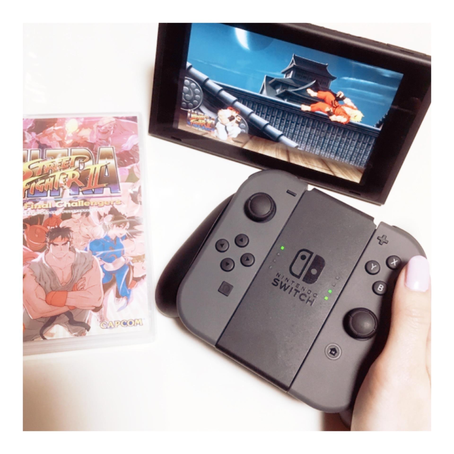 ゲーマー女子♡大人気で入手困難!?『 Nintendo switch 』_1_4