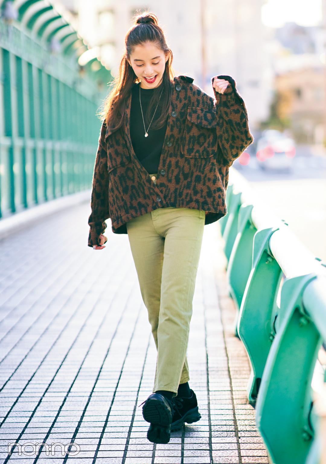 新木優子の冬私服♡ トレンドもコーデ術も、ヒントの宝庫!_1_4
