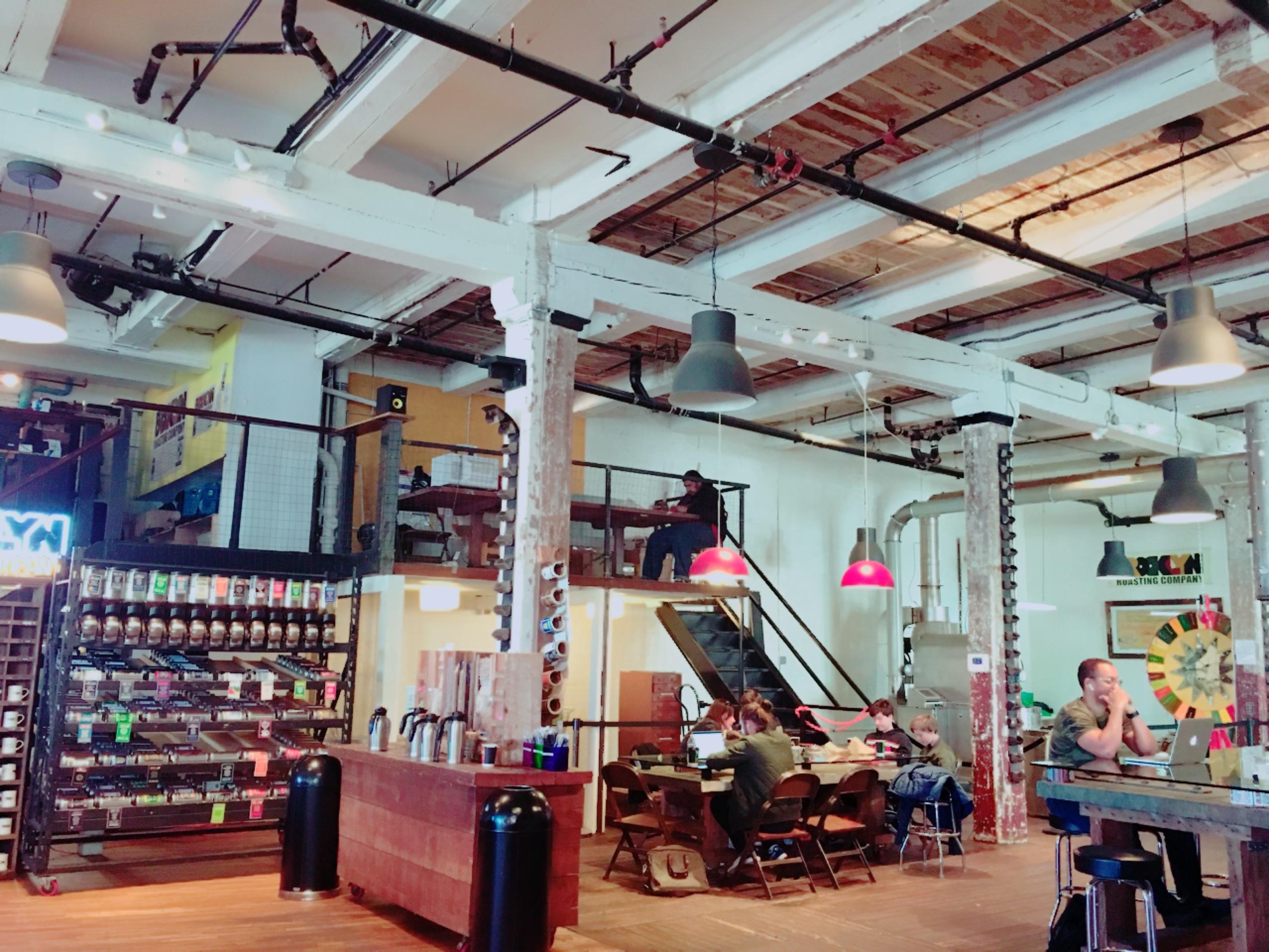 ブルックリン地区のコーヒー屋さん_1_1-1