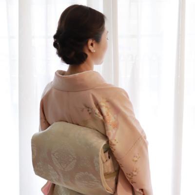 子どもの節目の行事は和装で、春らしく大人ピンクのお着物を_1_2-3