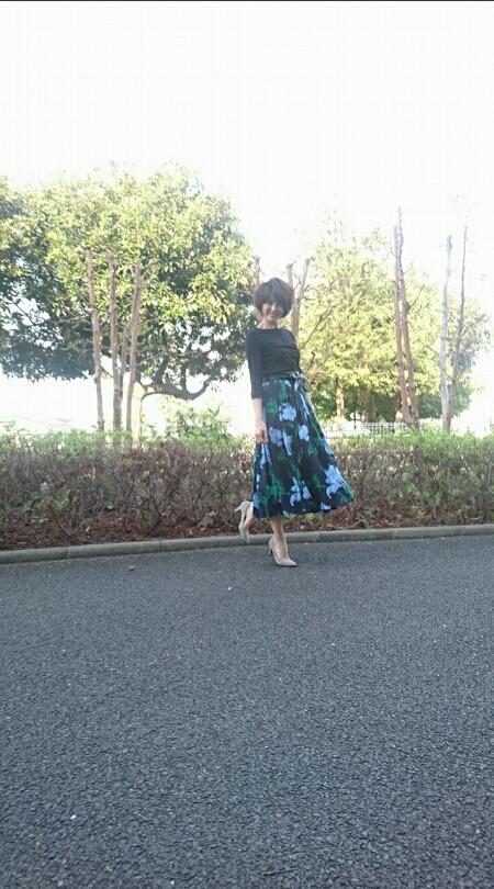 春は花柄スカートが穿きたい❤_1_2
