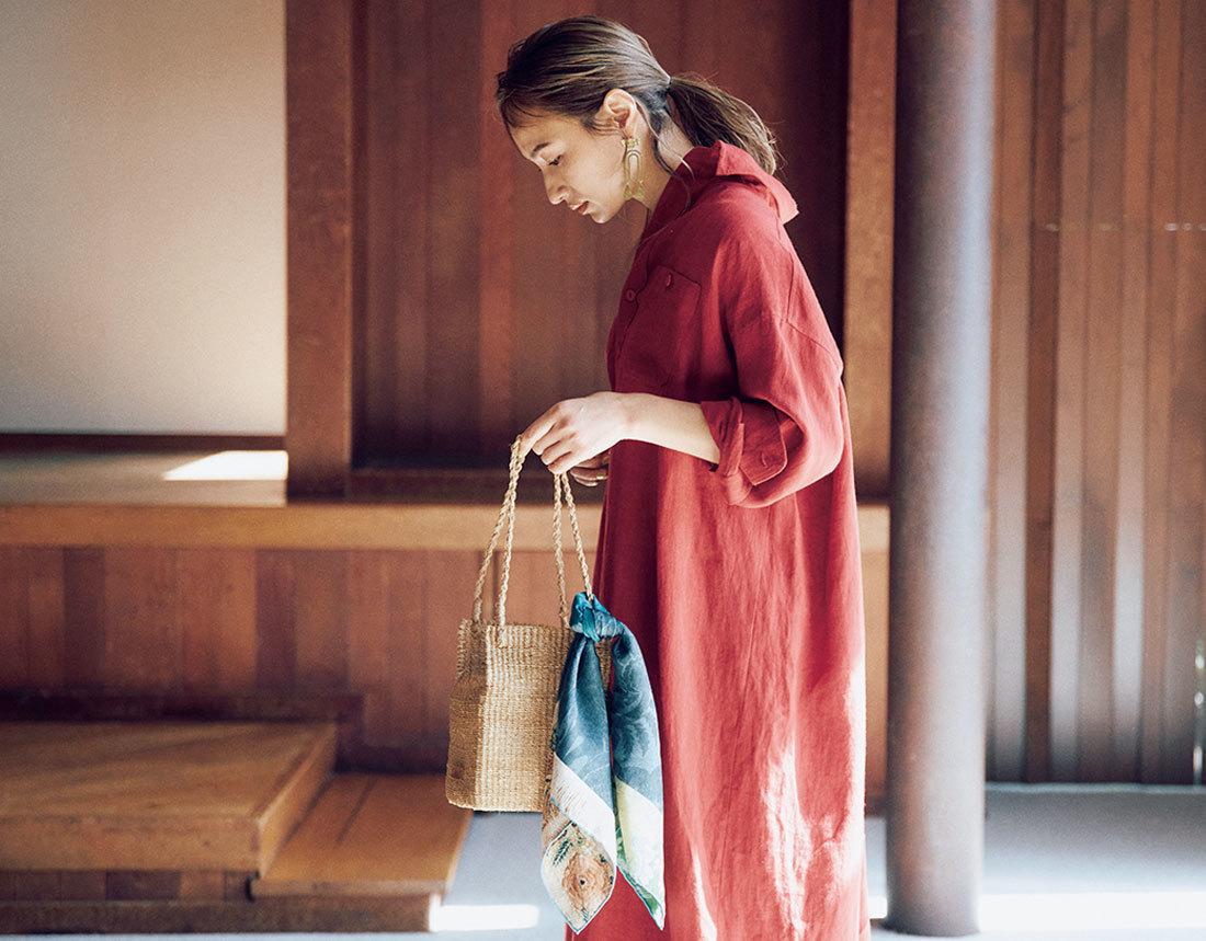 【40代におすすめの夏バッグ】コーデにメリハリを出す2021夏のトレンドバッグとは?|アラフォーファッション_1_4