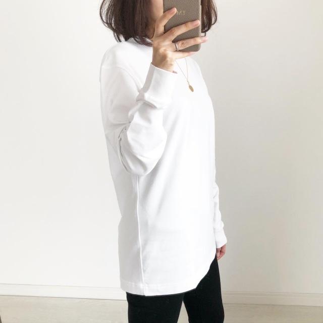 メンズがオススメ!『UNIQLO U』ヒートテックコットンクルーネックT【tomomiyuコーデ】_1_5