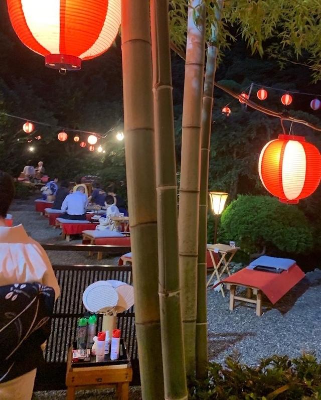 葉山 日影茶屋 鮎を食べる夕べ