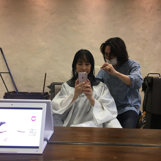 40代のボブスタイル(前髪、作っちゃいました!)_1_3