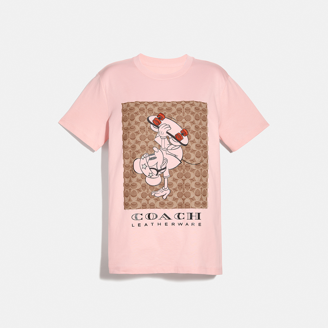 DISNEY x COACH SP Skateboard Tshirt