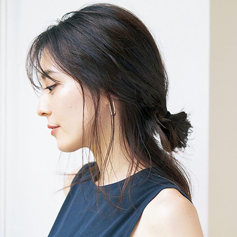 横から見た 人気ヘアスタイル8位の髪型
