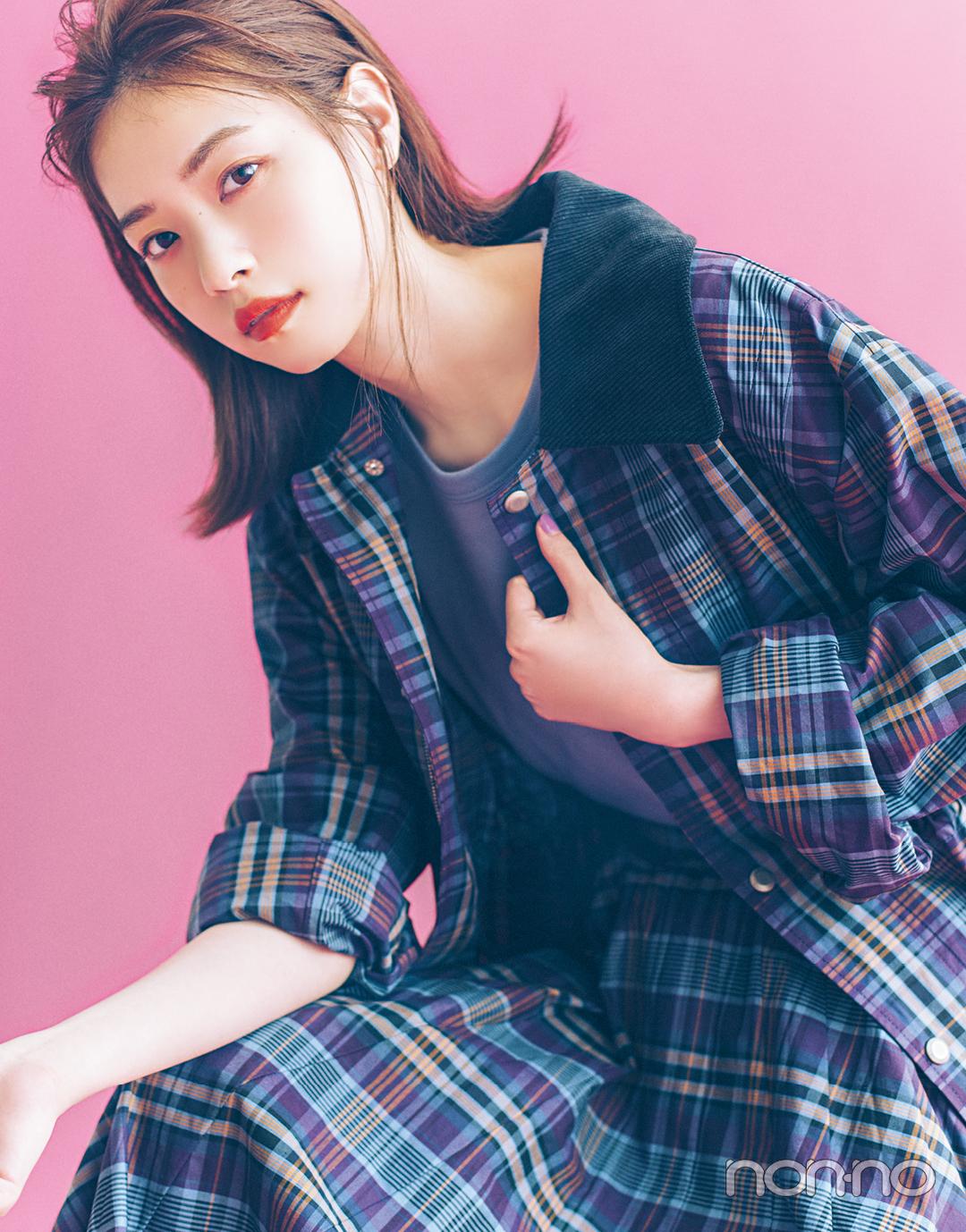 秋ファッションで魅せるモデルの顔。 西野七瀬フォトギャラリー_1_5