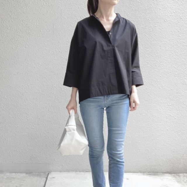 【ユニクロ+J】春夏のおすすめシャツで上下UNIQLOコーデ_1_3-2