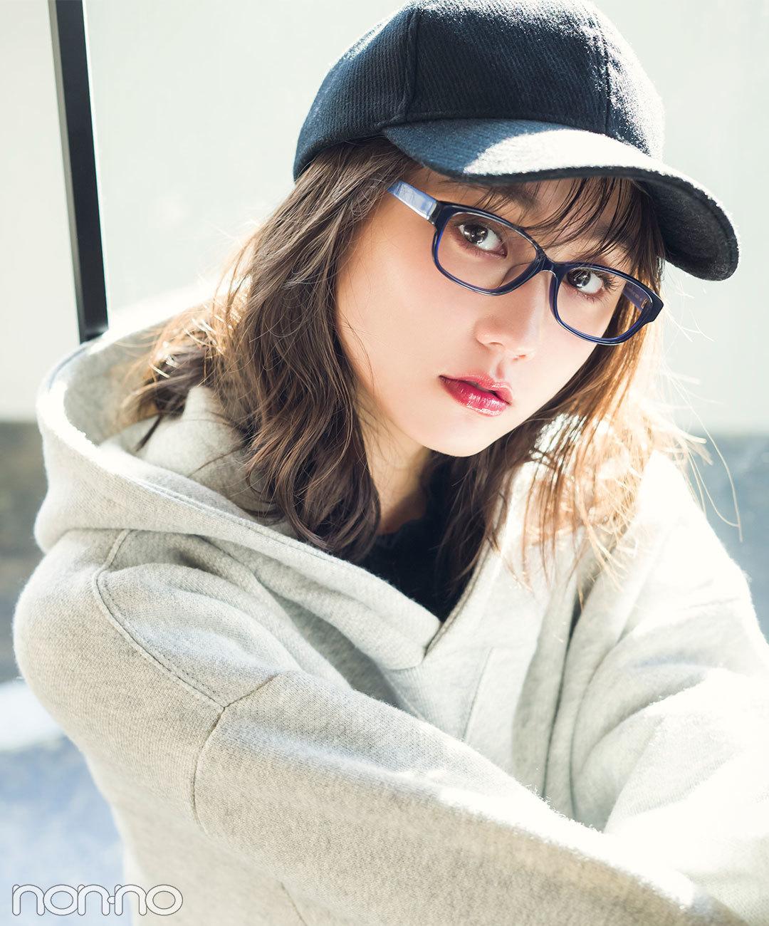 NINE WEST×鈴木友菜 アイウエア(メガネ)
