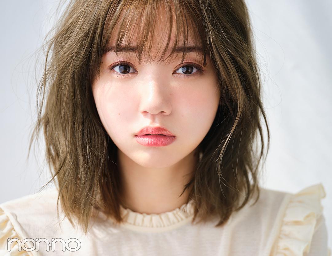 可愛げEye♡きらツヤピンクで甘くピュアに 江野澤愛美