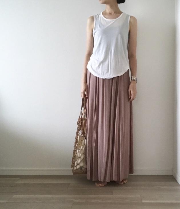 「楽ちん着映え」私が選んだロングスカート【40代 私のクローゼット】_1_5