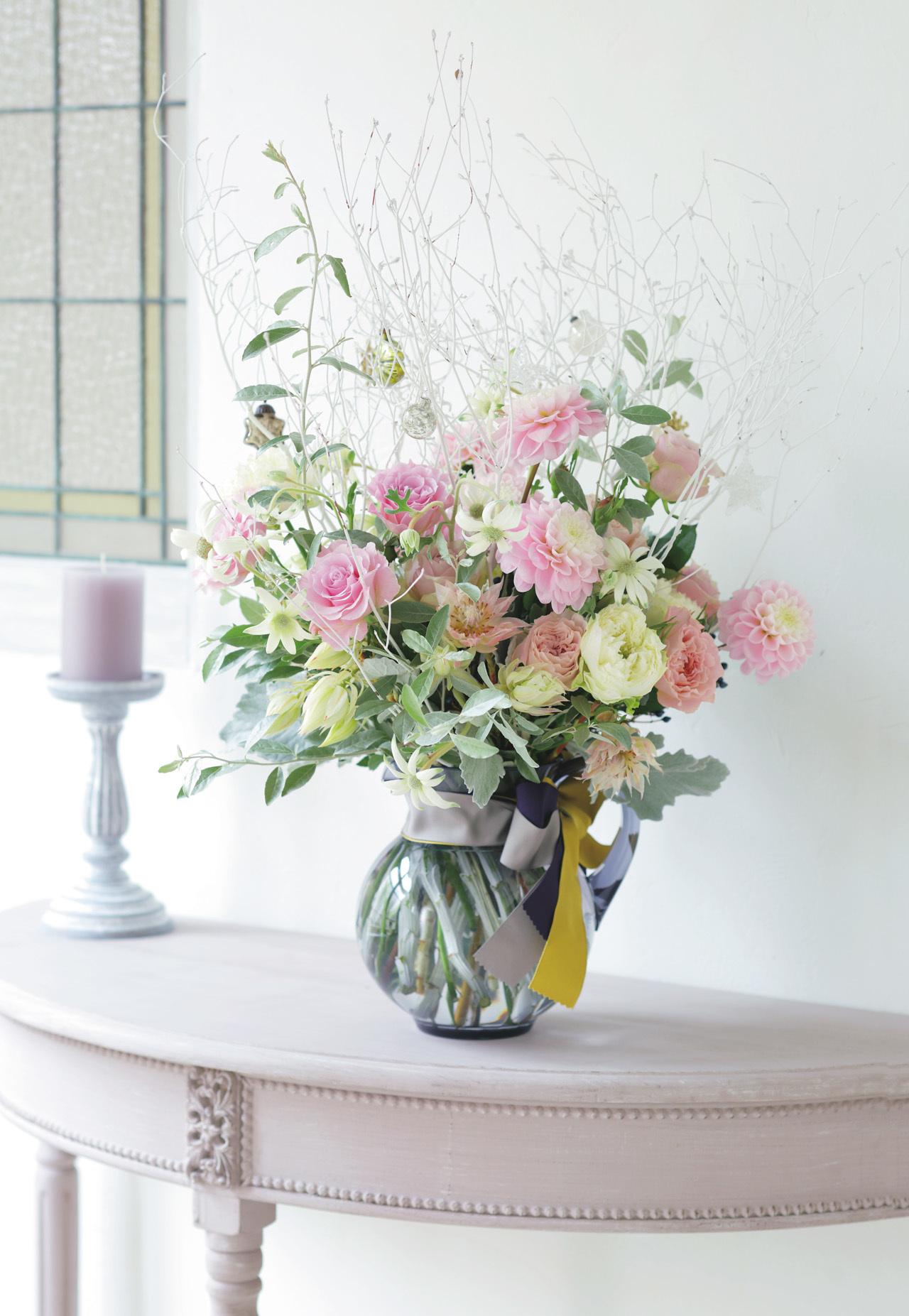 集う日の空間を豊かに彩る お出迎えの花、 くつろぎの花、贈る花五選_1_1