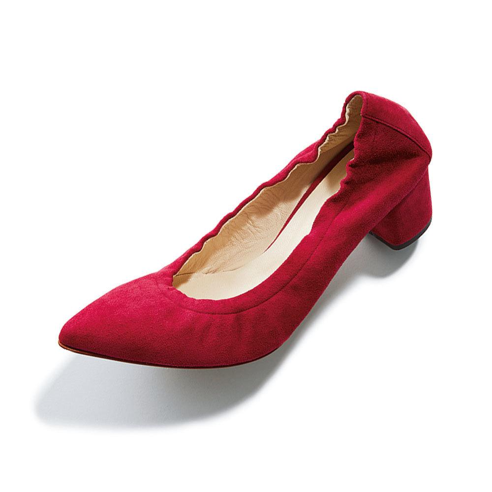 ファッション 走れるローヒールパンプルはバーニーズ ニューヨークのパンプス