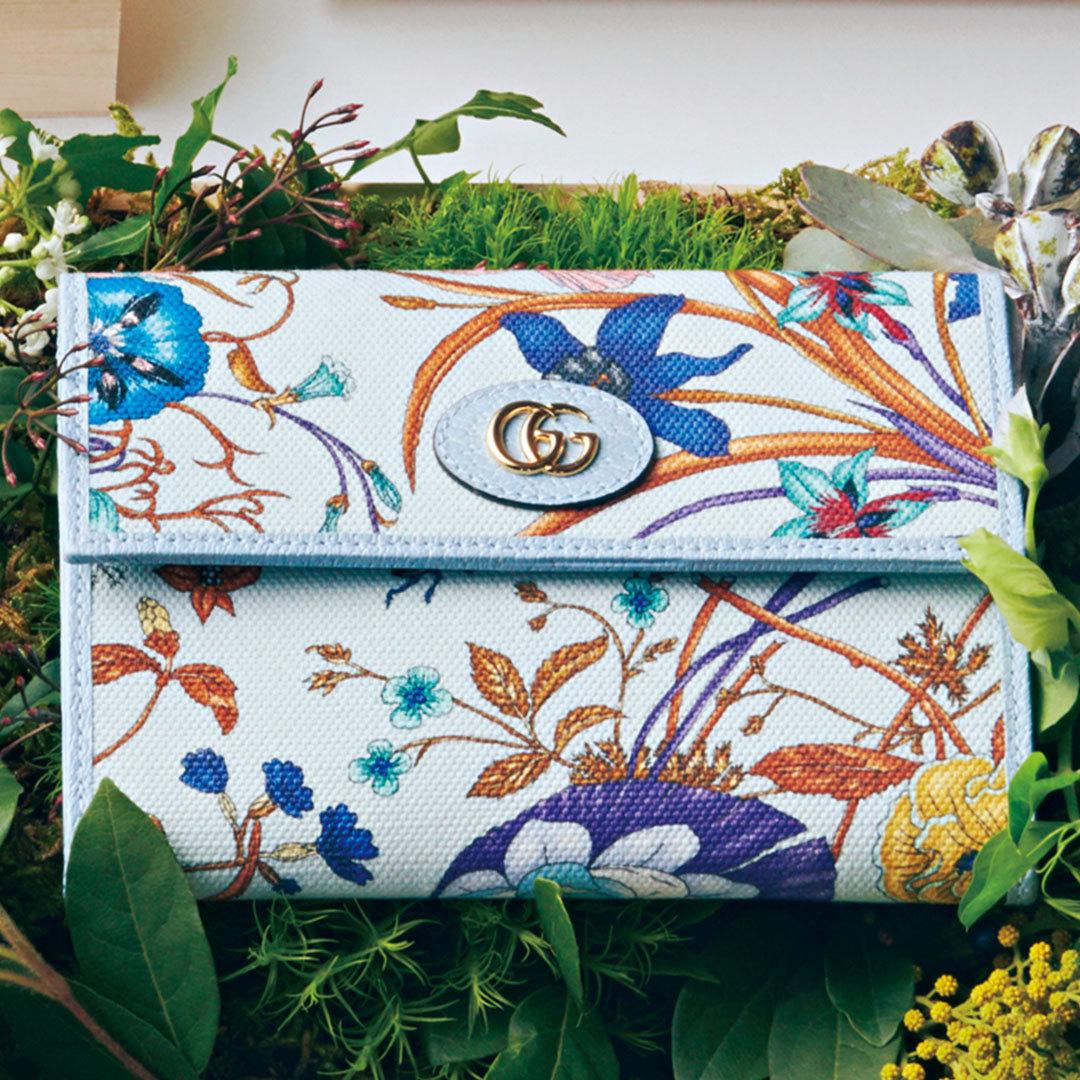 グッチの名作「フローラ」のミニ財布&バッグ、可愛さが止まらない!【20歳からの名品】_1_2-3