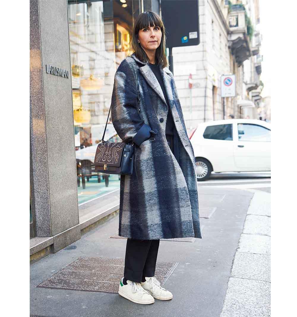 トラッドムード漂う「ハンサムチェック」に夢中です【ファッションSNAP ミラノ・パリ編】_1_1-2