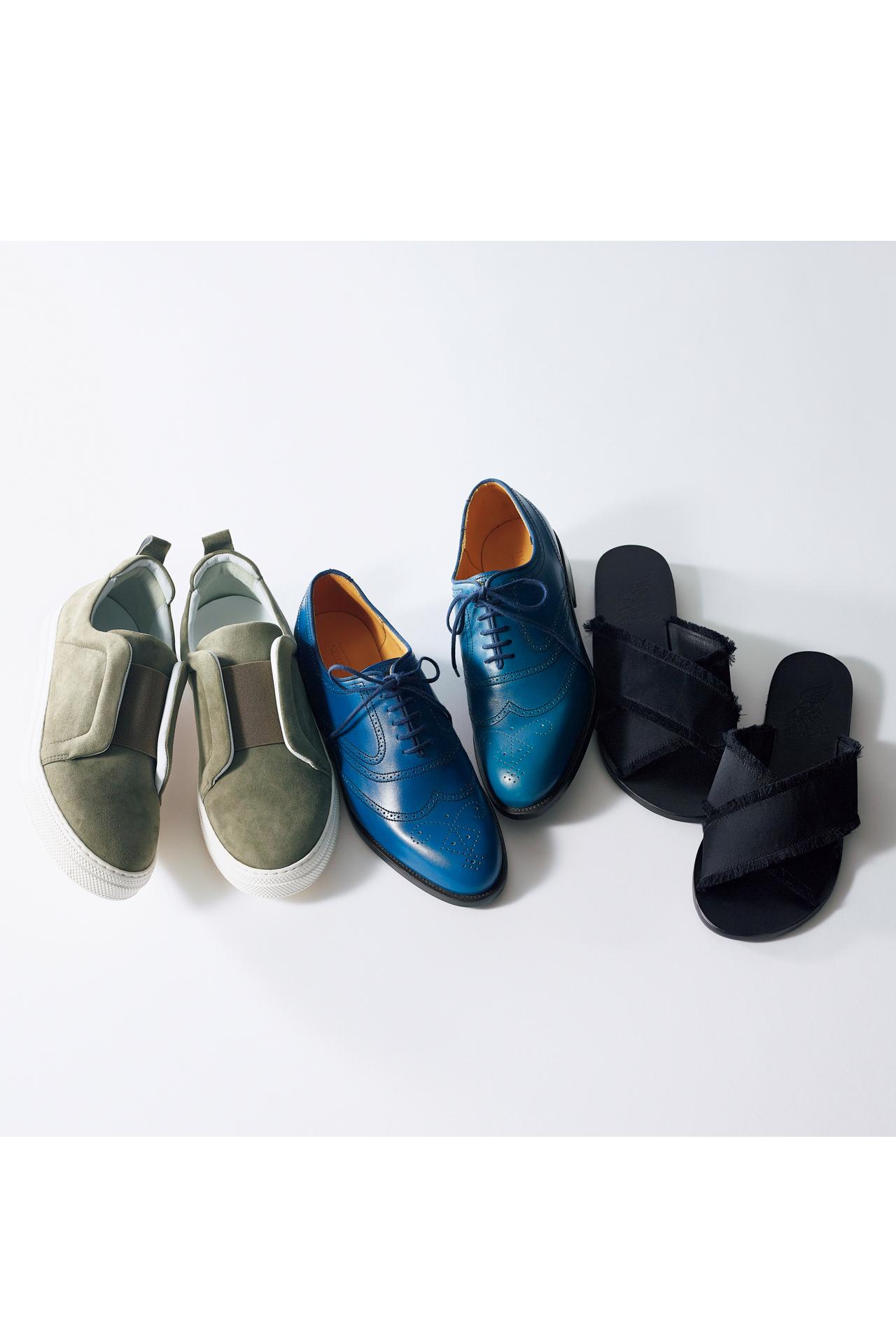 バッグは「きれいめ」、靴はフラットで「ハズす」 TOKYOベーシックスタイル_1_1-5
