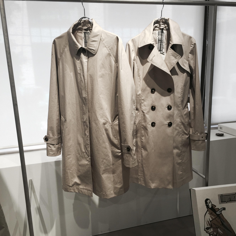 このステンカラーコートに一目惚れ。またまた買っちゃいました!_1_3