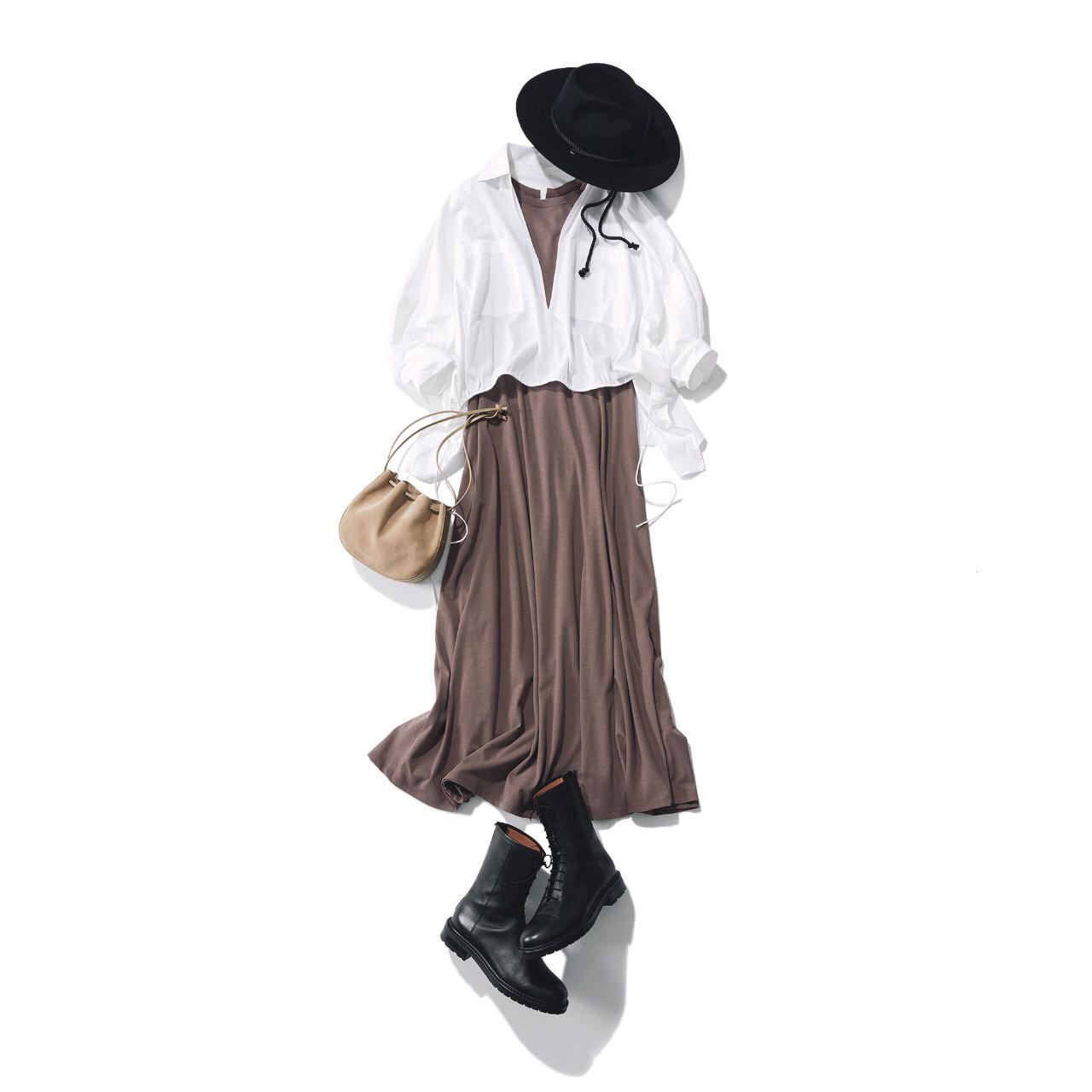 【2021秋のショートブーツ】カジュアル派もきれいめ派も使える! 万能ショートブーツを使った秋コーデまとめ|40代ファッション_1_9