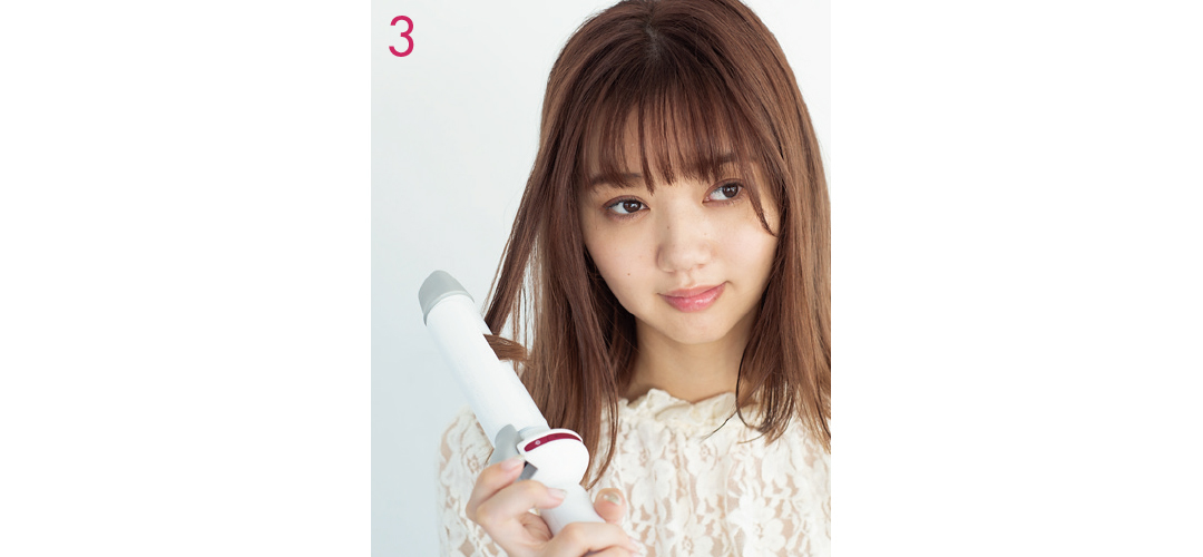 【ヘアアレンジ】簡単巻き髪テク★ 揺れるミディアムはこう作る!_1_6