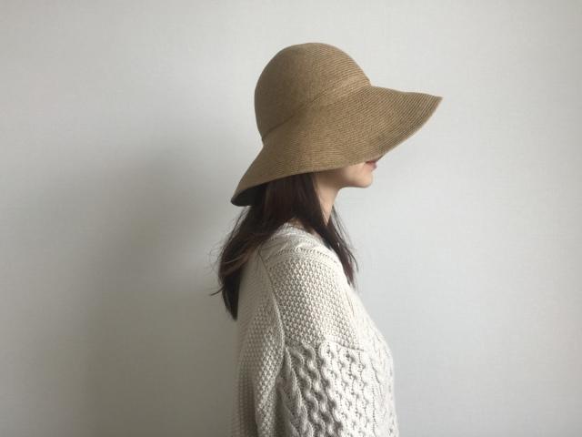 プチプラ帽子で日々のコーデにアクセントを【40代 私のクローゼット】_1_8-1