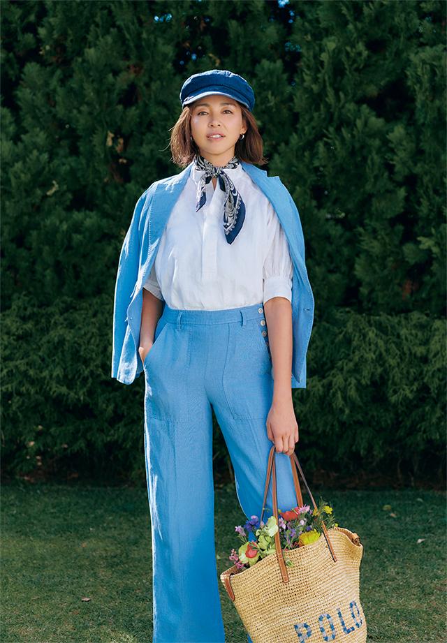 ガーデンパーティを楽しむようにポジティブに 「ポロ ラルフ ローレン」で出会う、 心弾む服_1_2