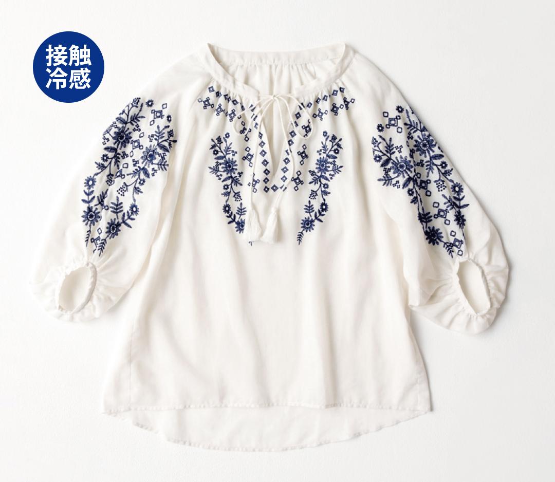 UV対策、汗ジミ防止、接触涼感…今から夏中おしゃれ&快適な服はコレ!_1_1-2