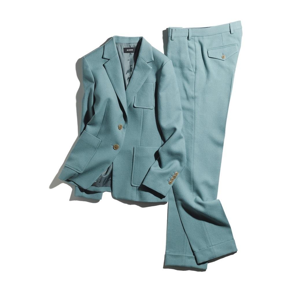 ファッション シンメのスーツ