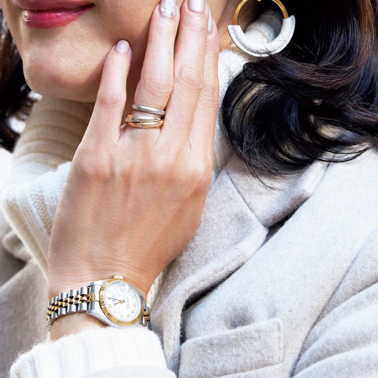"""「#Jマダムのおしゃれ」で発見! センスが光る""""今どき50代""""ファッション&手もとのおしゃれ25_1_1-22"""