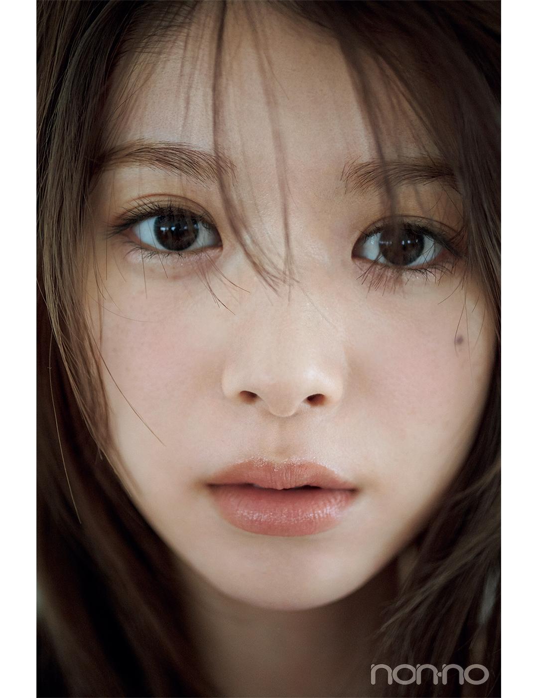 non-no 2021年6月号掲載『馬場ふみかのふみかける』 馬場ふみかがヘア&メイクアップアーティストの中野明海さんとコラボ!