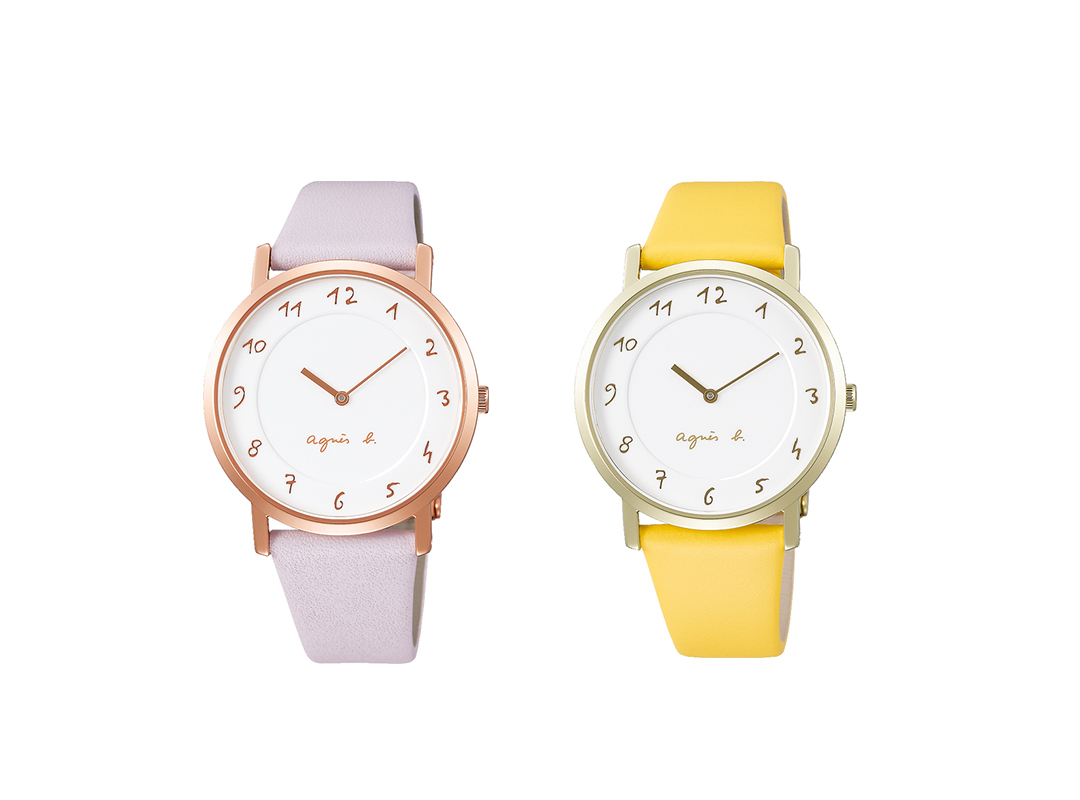 アニエスベーの時計に30周年限定モデルが登場★ 人気モデルの復刻版も!_1_2-1