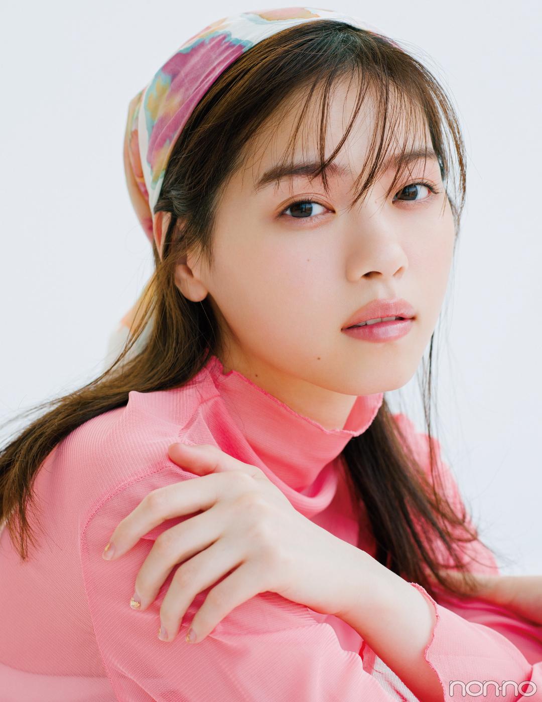 西野七瀬の+2℃メイク♡ 目と眉にじんわりピンクでおしゃれオーラが手に入る!_1_2