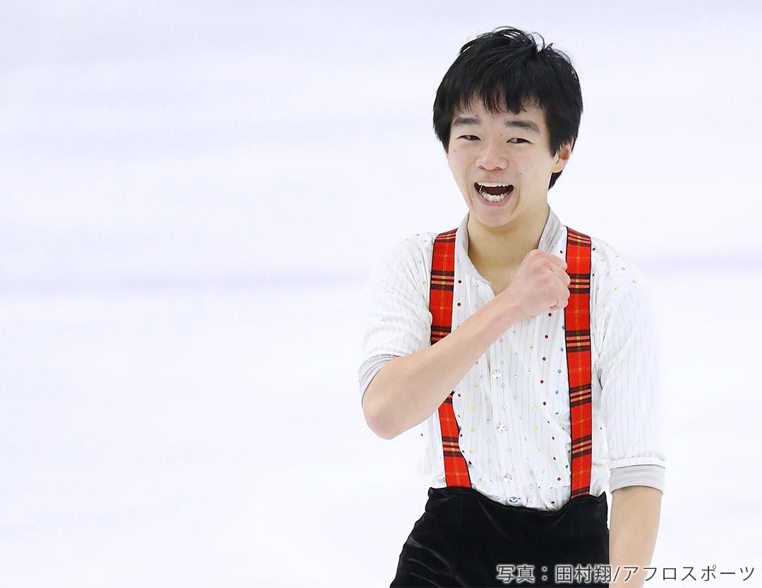 2019年フィギュアスケート全日本ジュニア選手権男子FSでの鍵山優真選手