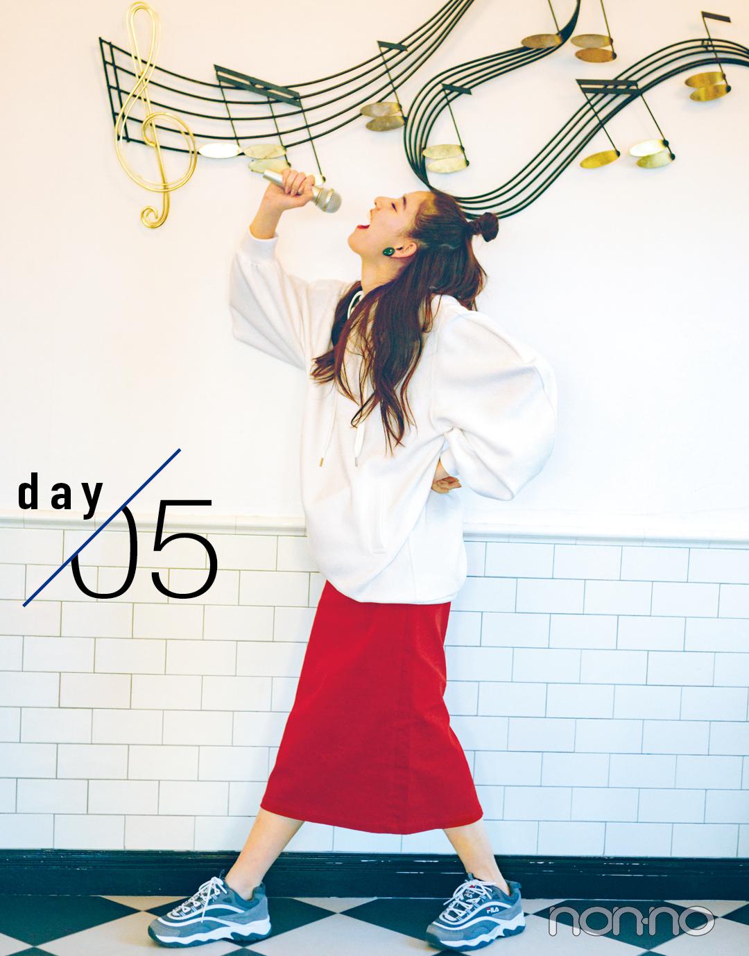 新木優子のハッピー感MAX着回しday1-5★ おしゃれで女子にモテるってこういうこと!_1_2-5