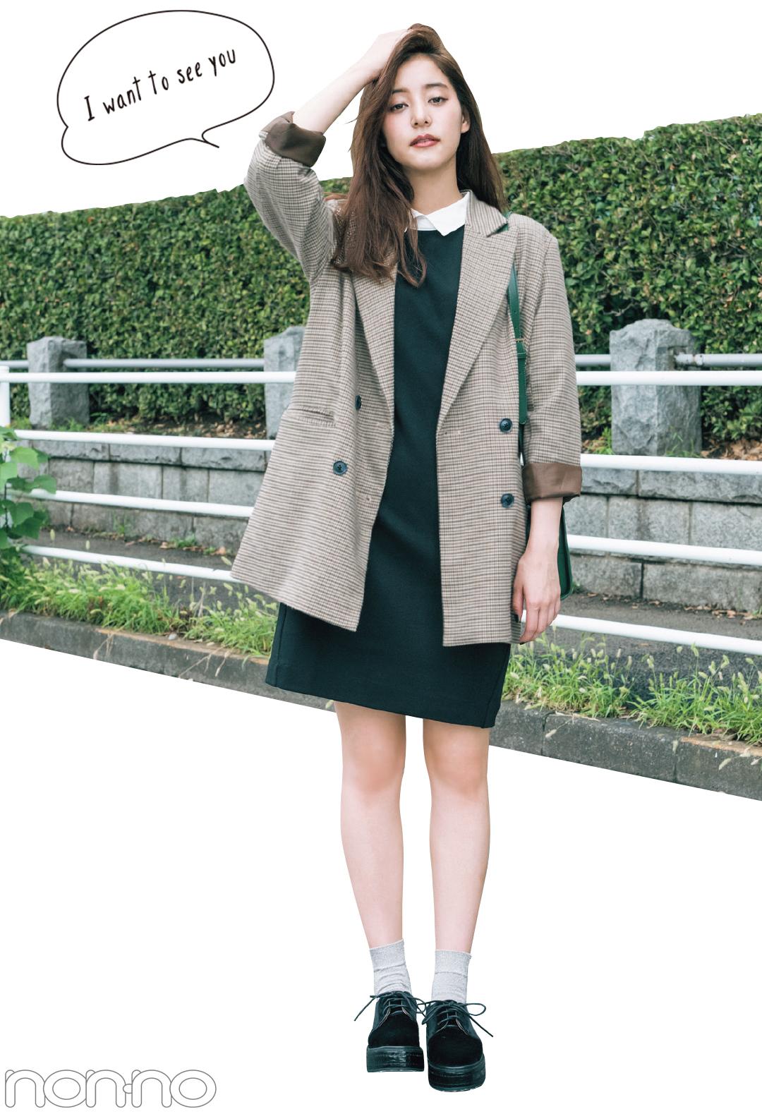 新木優子のトレンドコーデ♡ 秋の「ジャケット」は10倍可愛く着回せる!_1_2-5