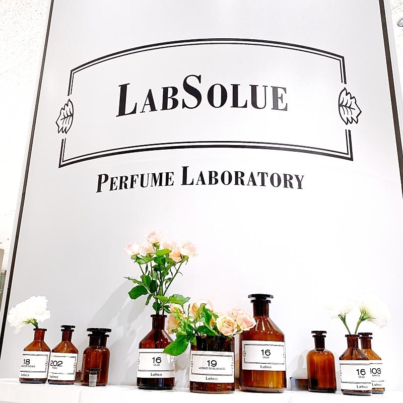 LabSolueのPOPUPショップは伊勢丹新宿店で3/30まで開催中