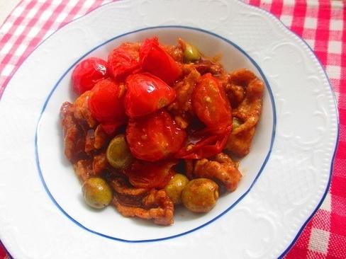 インナービューティを目指すなら。豚肉とトマト炒めレシピ_1_1