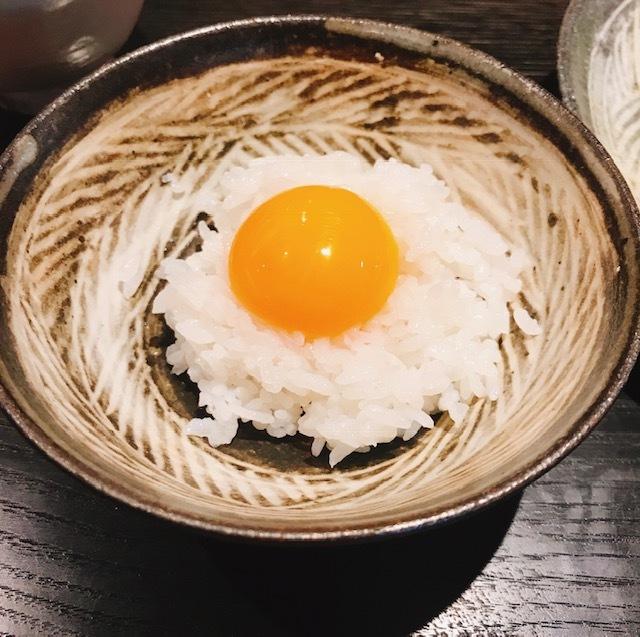 オプションで卵かけご飯も!今回はいただきませんでしたが、卵焼きもあるそうです!!