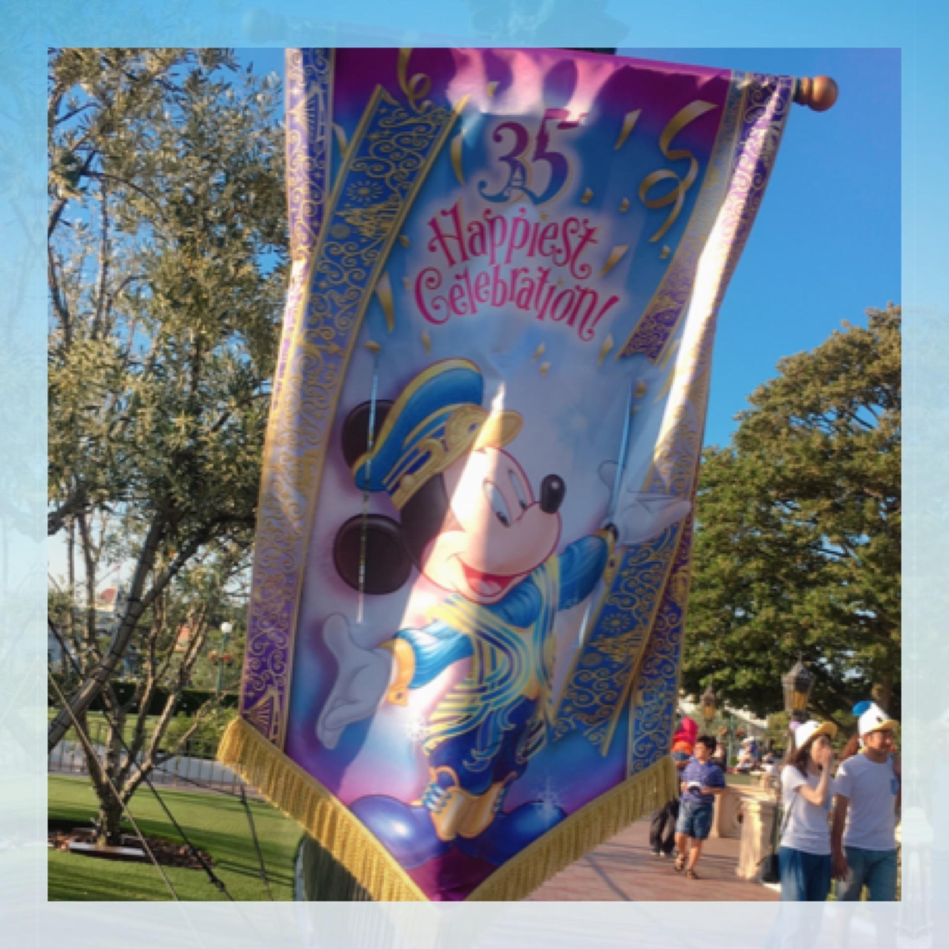 Tokyo Disneyland《 35 Happiest Gelebration! 》に行ってきました♫_1_5-2
