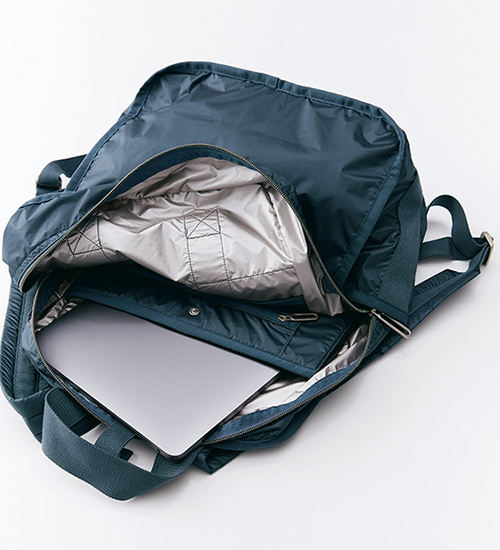 機能的でしゃれているから、いつでも一緒 大人の毎日に、 レスポートサックのきれいめバッグ_1_2-2