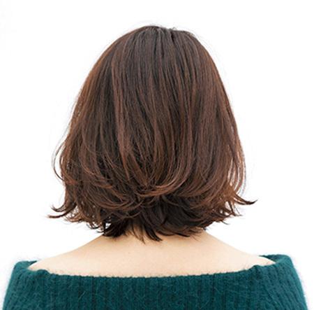 肩ラインのロブなら 揺れ感、毛流れも楽しめる【40代のボブヘア】_1_3