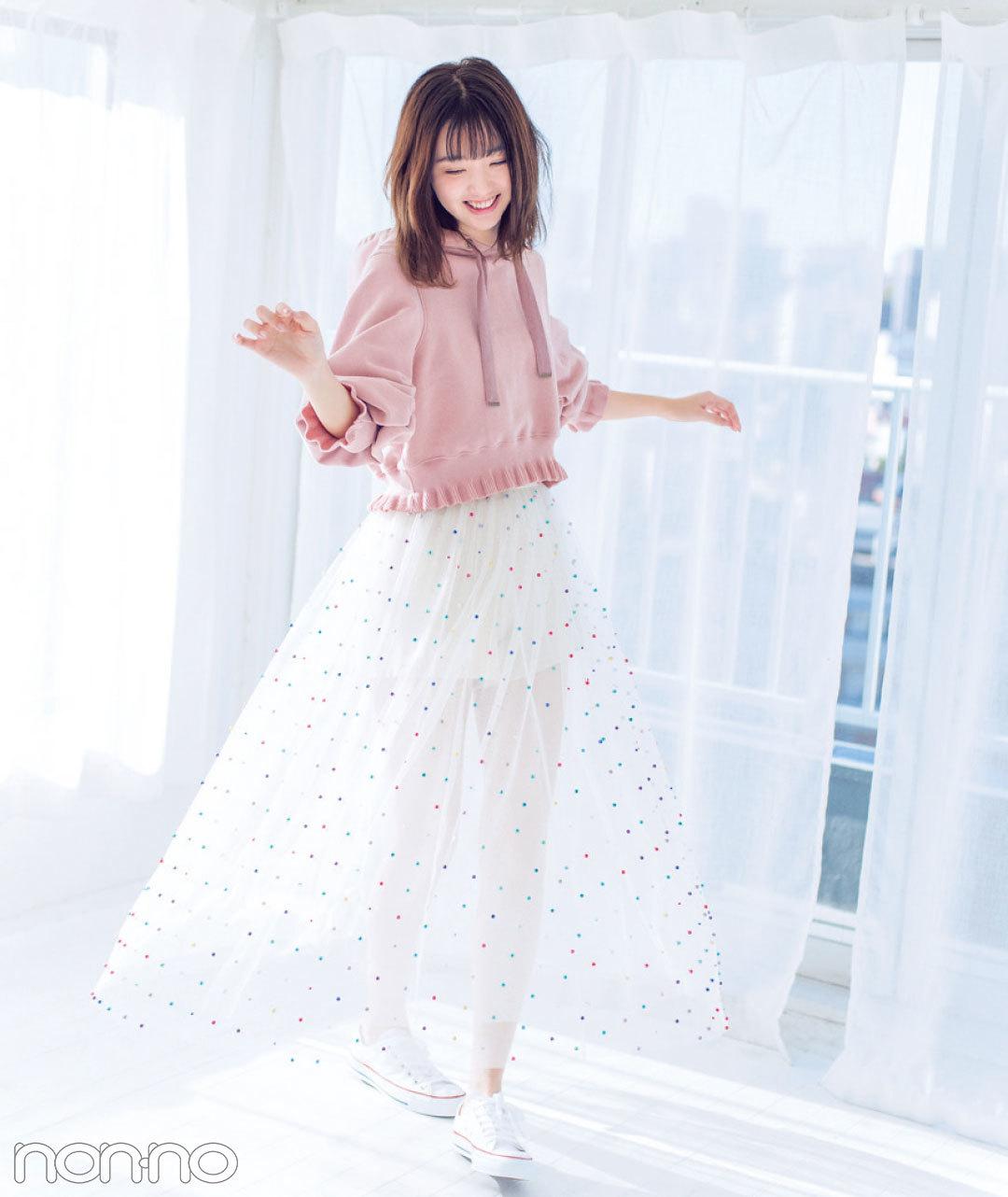 江野沢愛美、Seventeenを卒業してnon-no専属モデルに! 【初めまして、まなみん♡】_1_3