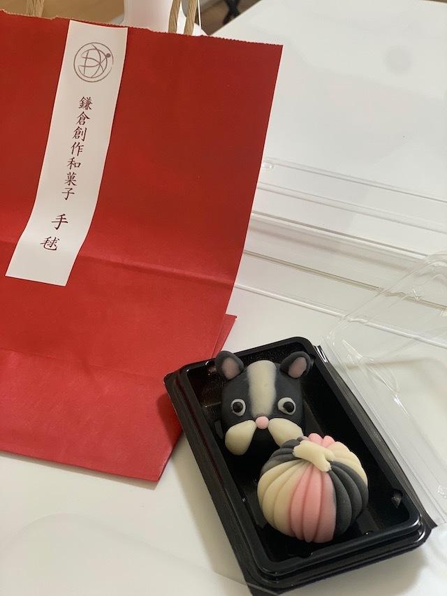 鎌倉手毬 和菓子 和菓子作り