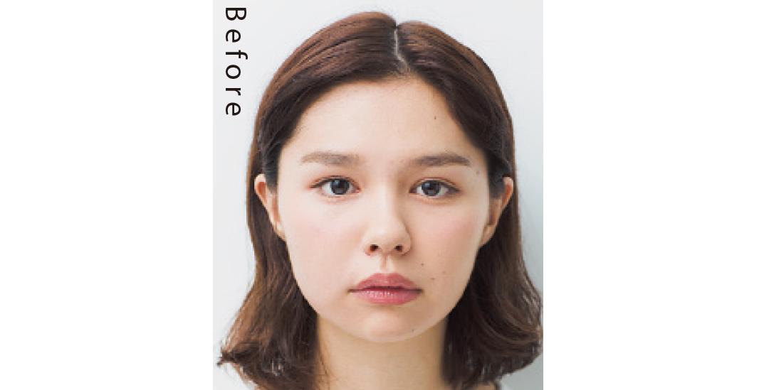 ベース型&エラはりさんも絶対小顔! パーマの揺れ感で優しげ♡ な髪型_1_1