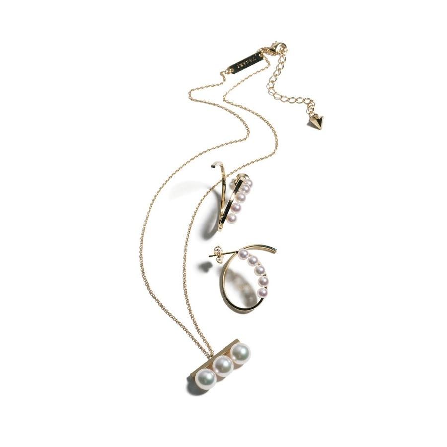 ファッション TASAKIのイヤリングとペンダント