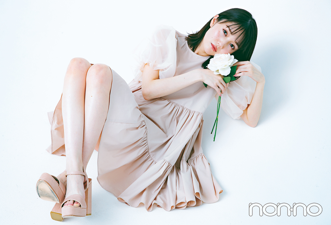 憧れ美脚代表 松川菜々花