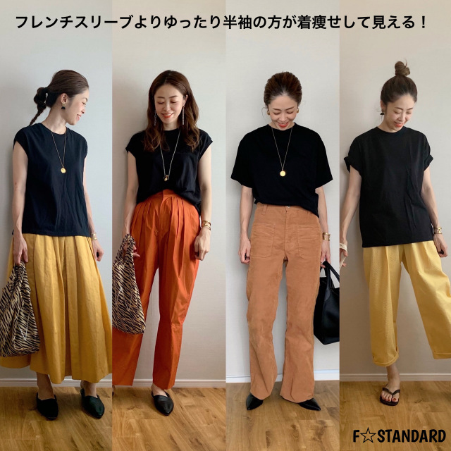 Tシャツ着比べ画像