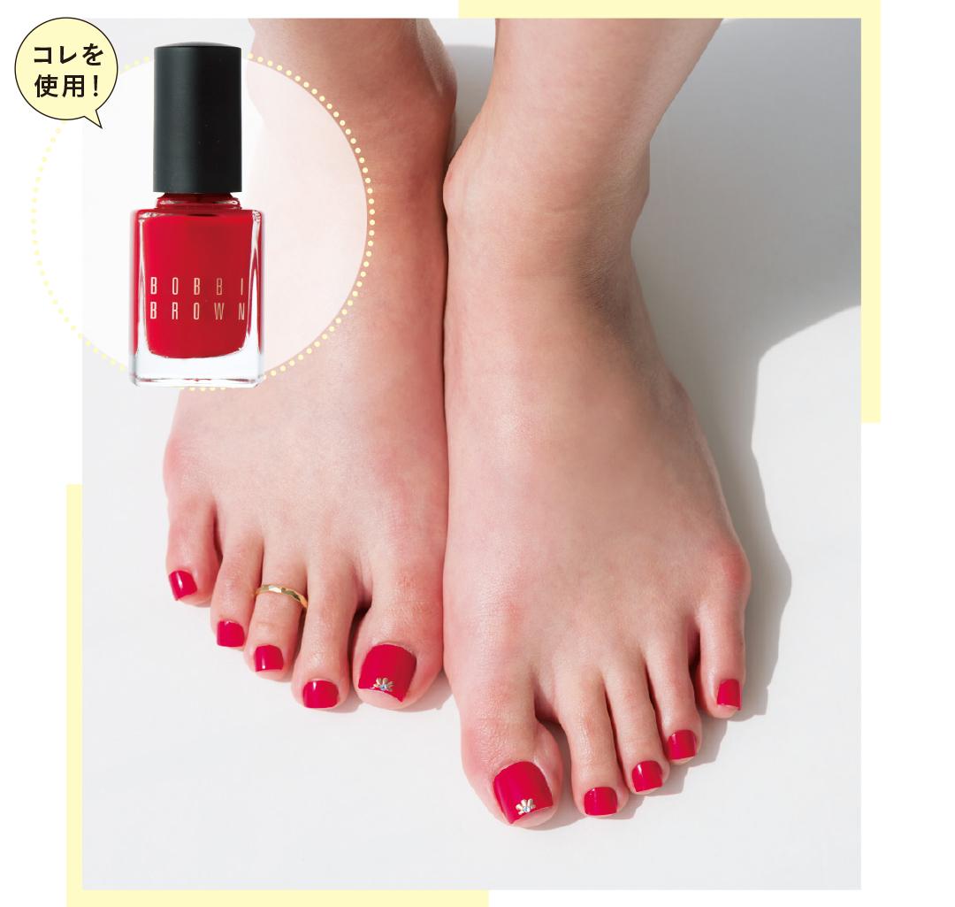 足の素肌をキレイに見せるペディキュアの色、知ってる?_1_1-3