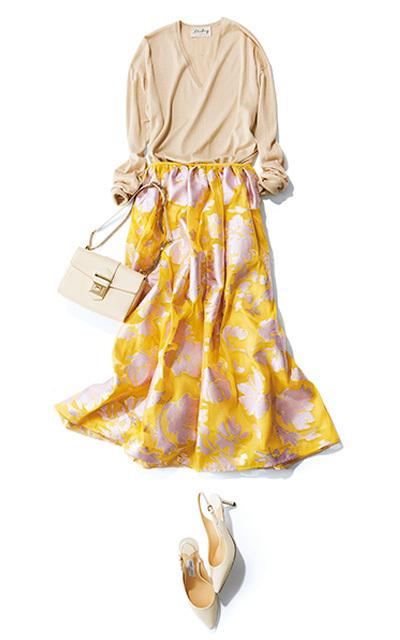 """春は""""しゃらりん""""と揺れるスカートで、一層ドラマチックに!【しゃらりんスカートで華やぎ】_1_7"""