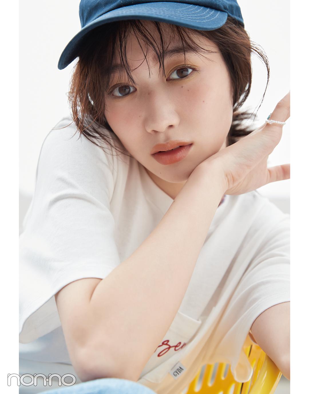 岡本夏美のカジュアル&ヘルシーな彼女の場合。カット3-1